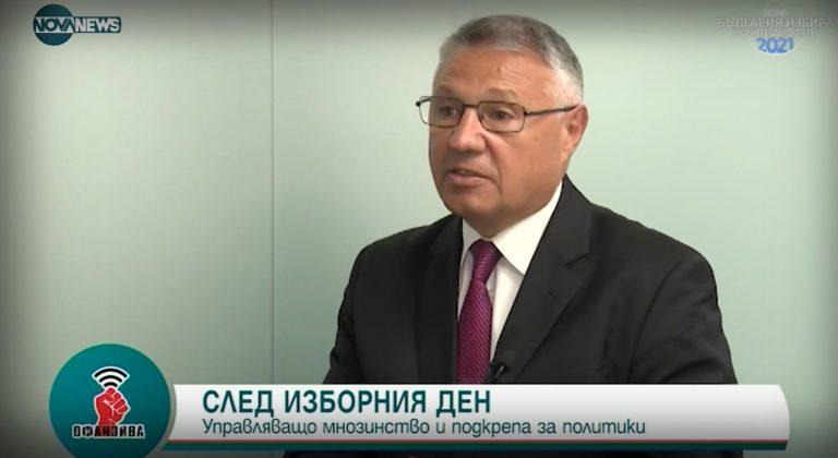 Велизар Шаламанов пред Nova news