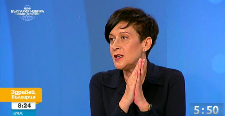 Антоанета Цонева в дебат по NOVA