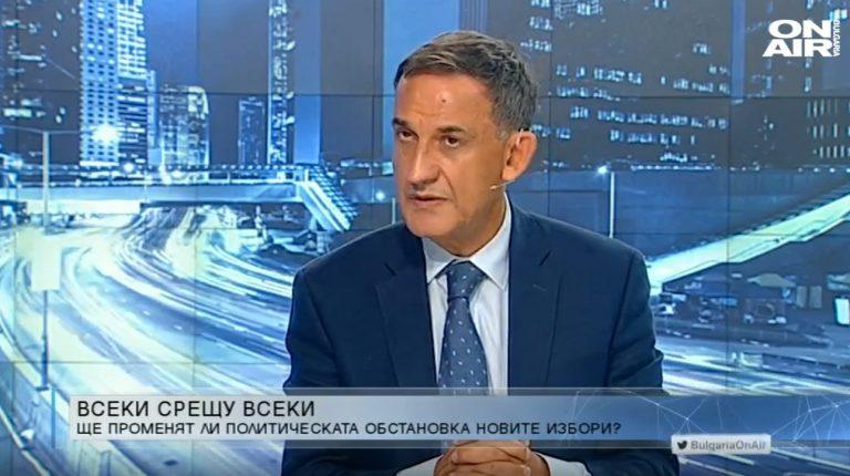 Стефан Тафров пред Bulgaria On Air